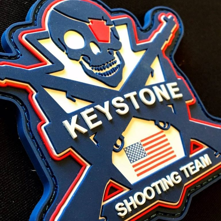 keystone shooting team badge