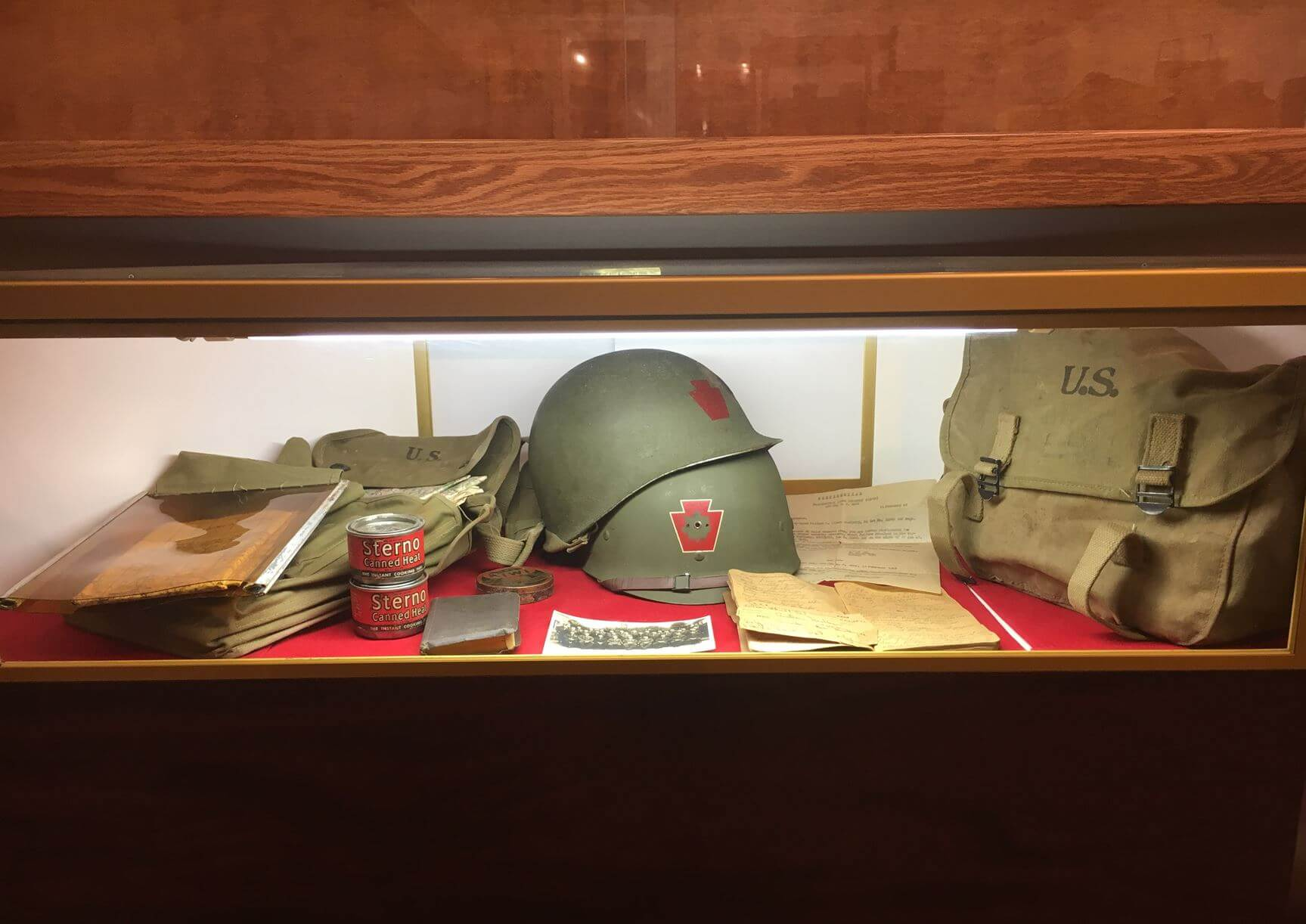 some military items